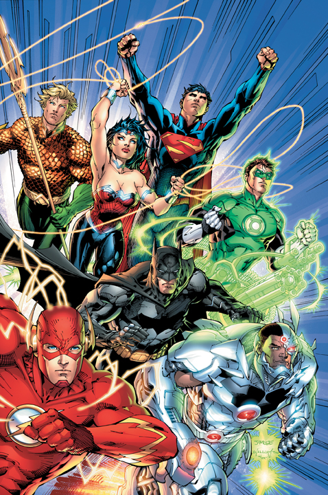 Justice League 1 Geoff Johns Jim Lee Justice League To Shoot Next Year, 2015 Release Date