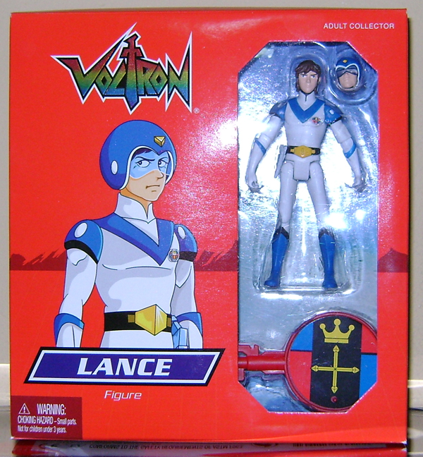 Lance 1 Voltron Classics: Red And Blue Lion!