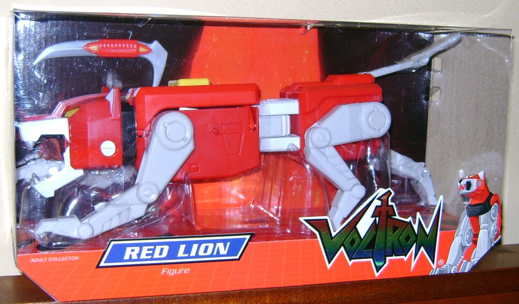 RL 1 1024x599 Voltron Classics: Red And Blue Lion!