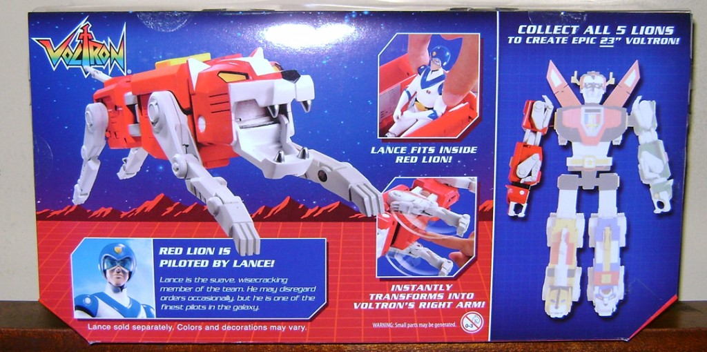 RL 2 1024x510 Voltron Classics: Red And Blue Lion!
