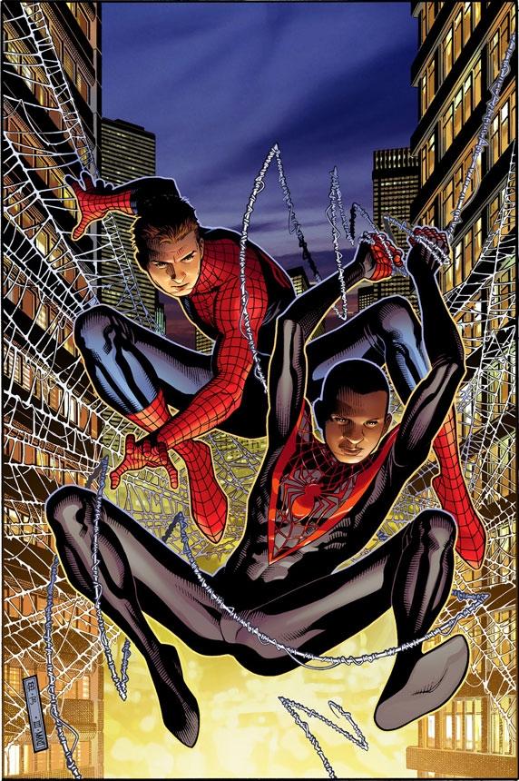 SpiderMen 1 Cover Comic Review: Spider Men #1 5