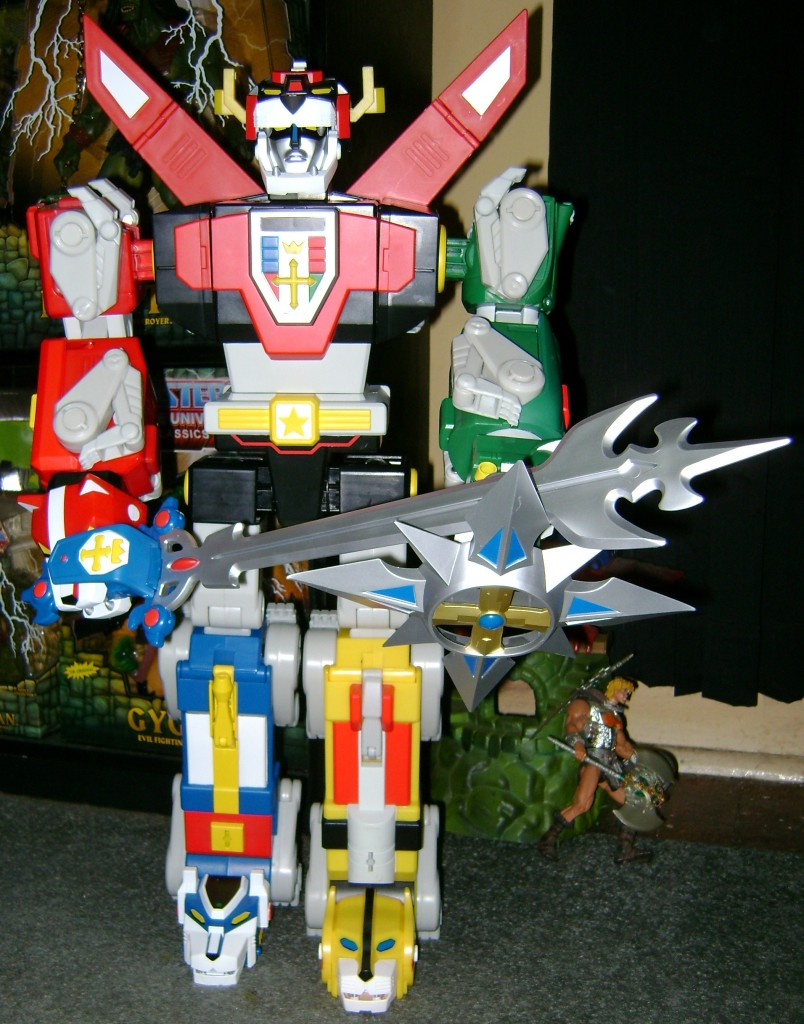 Voltron 1 804x1024 Voltron Classics: Black Lion And Voltron!