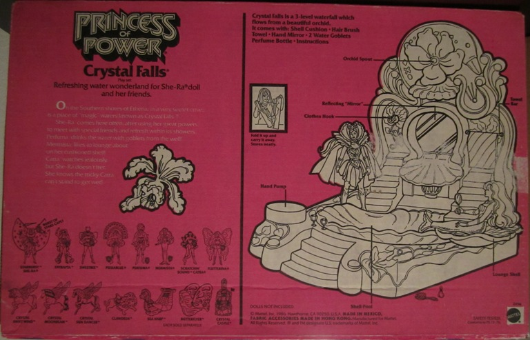 006 Vintage Toy of the Month! Crystal Falls!