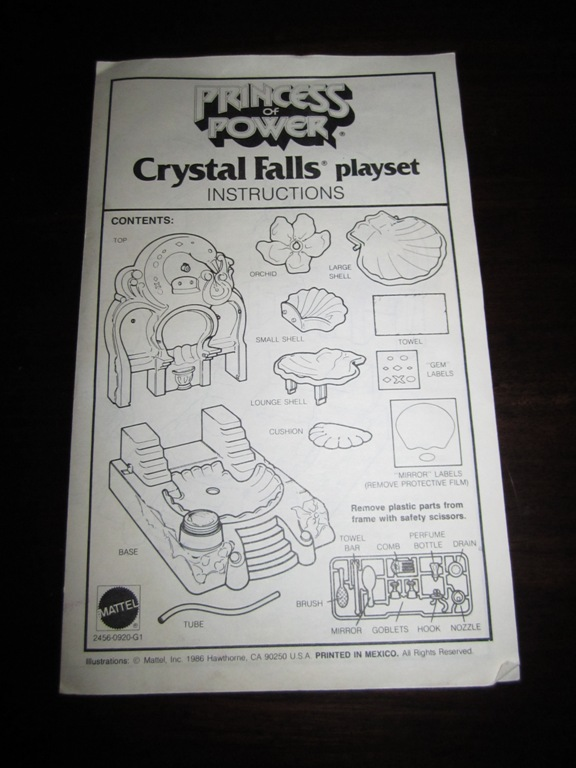019 Vintage Toy of the Month! Crystal Falls!