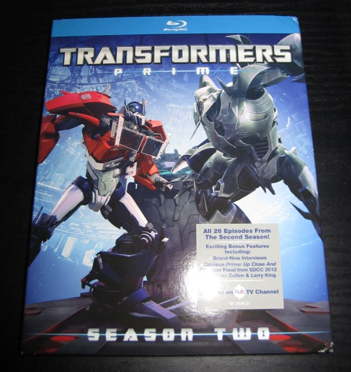 0191 Blu Ray Review: Transformers Prime Season 2!