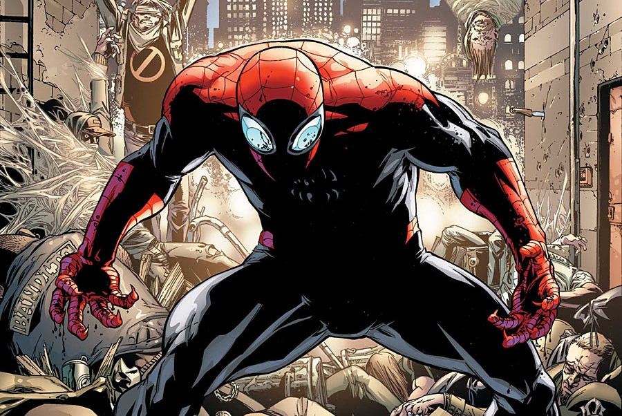 Superior Spider Man Vol 1 1 Camuncoli Variant Textless Amazing Spider Man #698 Leaked Spoilers