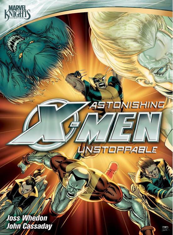xmen dvd Astonishing X Men: Unstoppable DVD Review!