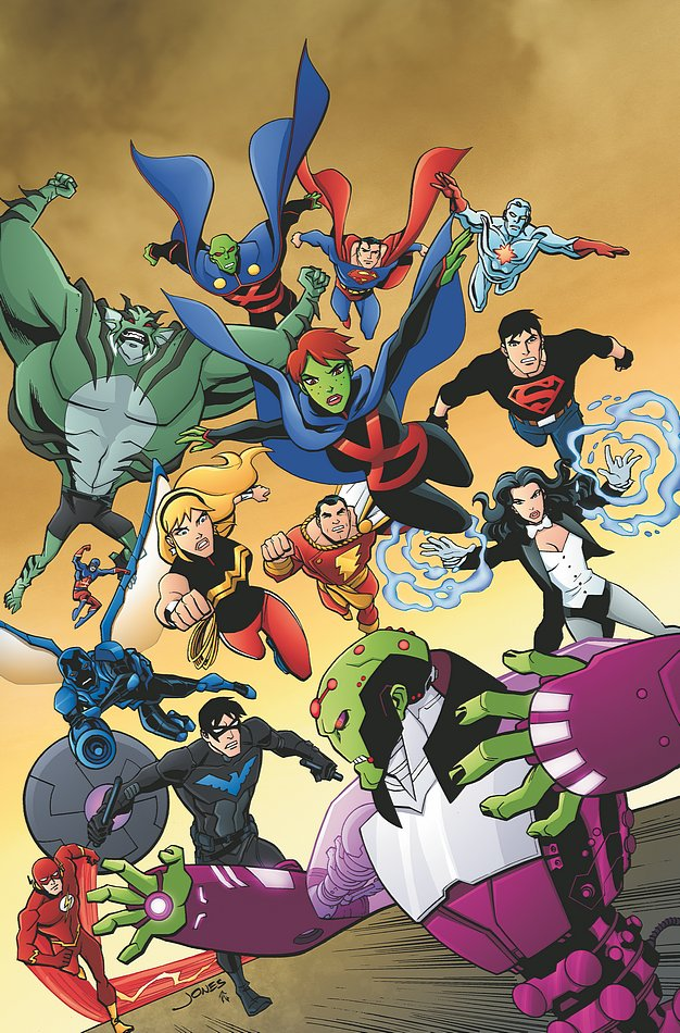 yj cv25 021 Young Justice Comic Ending in February