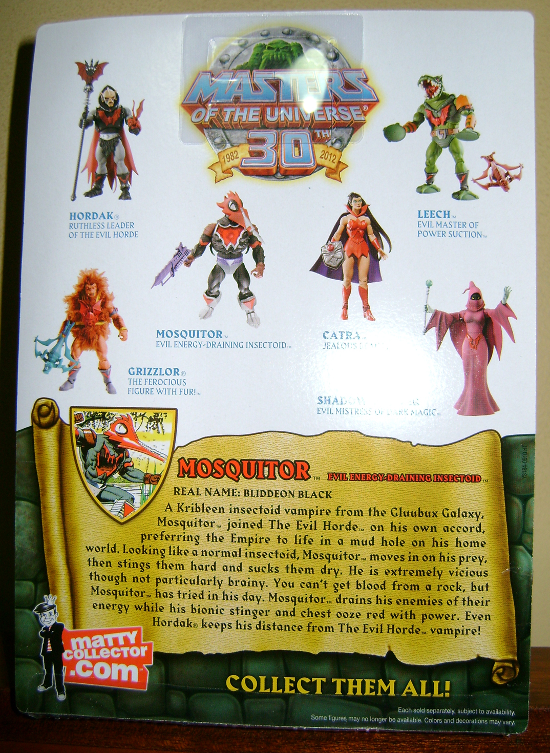 Mos 2 Thirty Years of MOTU: Dec  Procrustus, Mosquitor And Bonus Buzz Off!