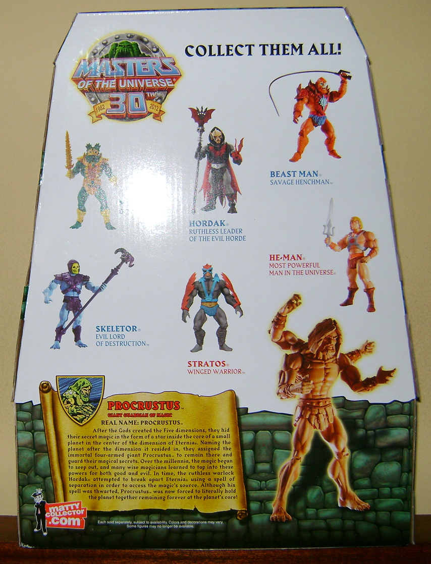 Pro 2 Thirty Years of MOTU: Dec  Procrustus, Mosquitor And Bonus Buzz Off!