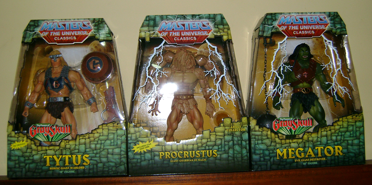 Pro 4 Thirty Years of MOTU: Dec  Procrustus, Mosquitor And Bonus Buzz Off!