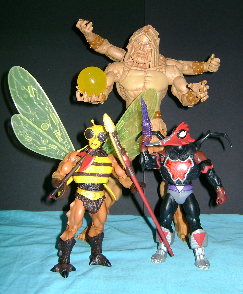 bugs crust 1 Thirty Years of MOTU: Dec  Procrustus, Mosquitor And Bonus Buzz Off!