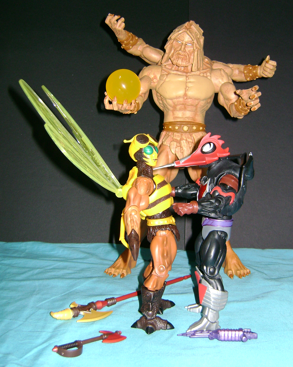 bugs crust 2 Thirty Years of MOTU: Dec  Procrustus, Mosquitor And Bonus Buzz Off!