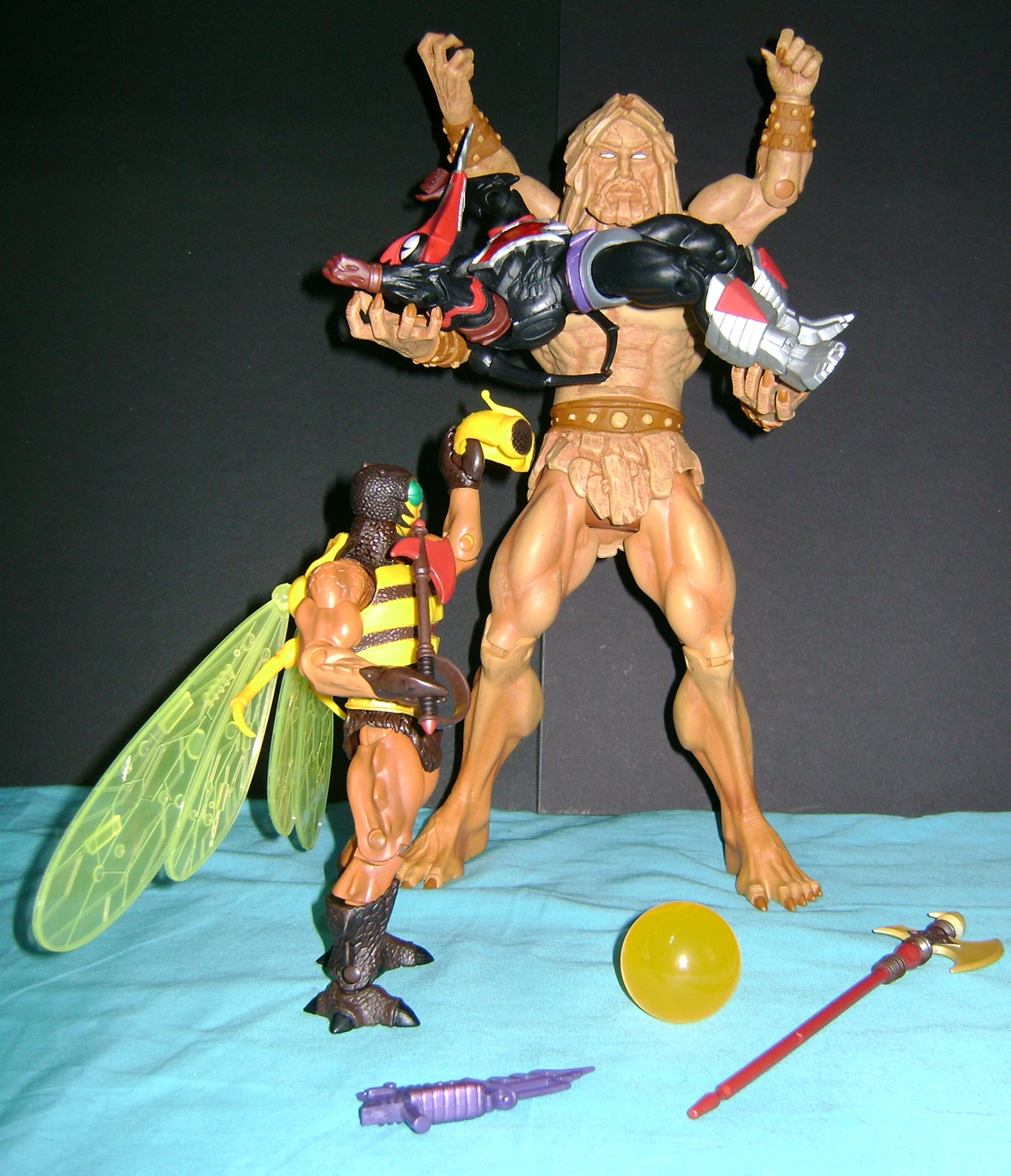 bugs crust 3 Thirty Years of MOTU: Dec  Procrustus, Mosquitor And Bonus Buzz Off!