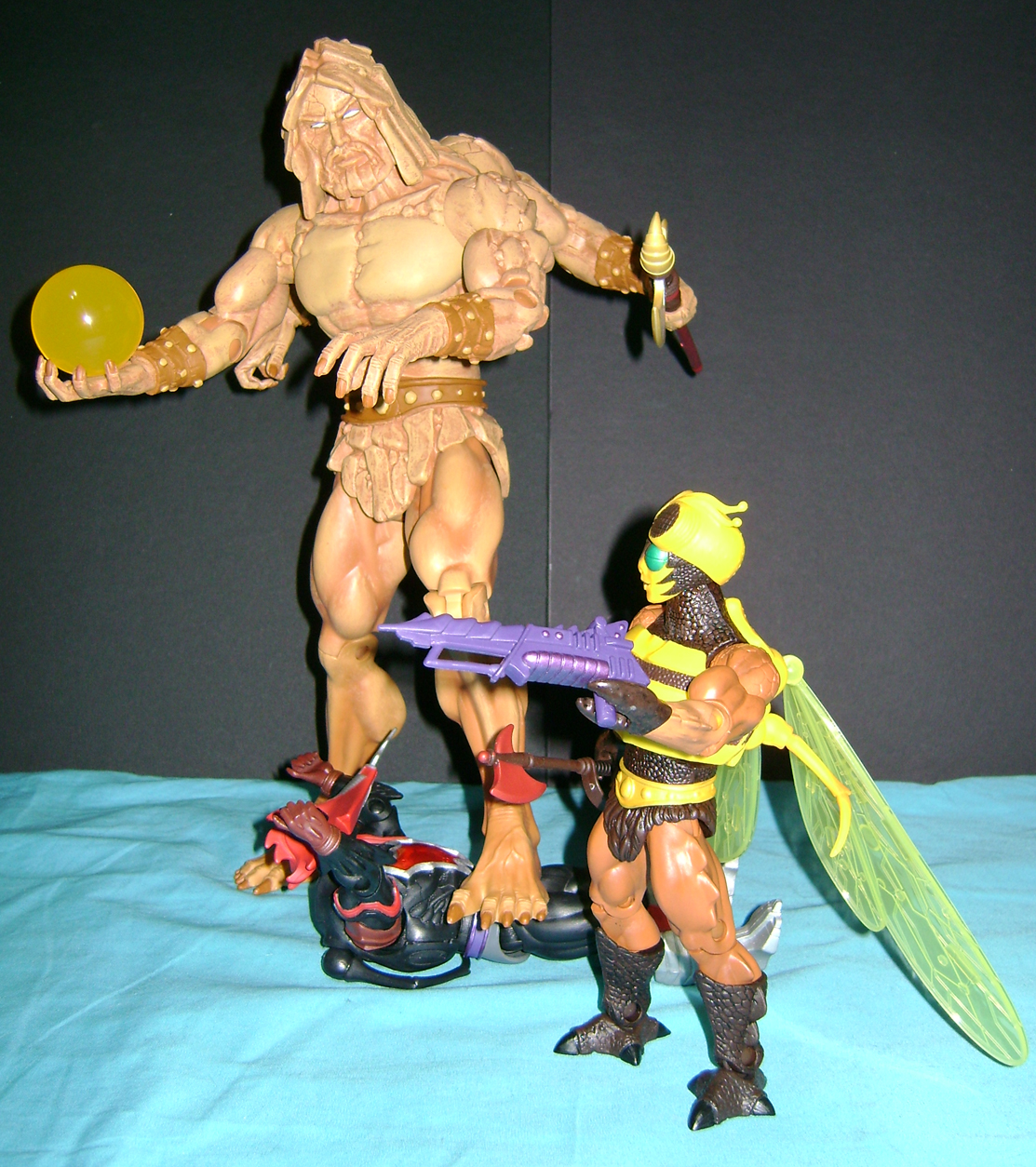 bugs crust 4 Thirty Years of MOTU: Dec  Procrustus, Mosquitor And Bonus Buzz Off!