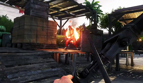 far cry3 flaming arrow Video Game Review: Far Cry 3