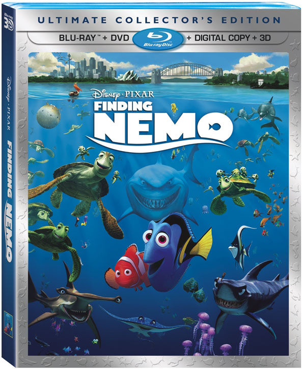findingnemo3d Blu Ray Review: Finding Nemo 3D