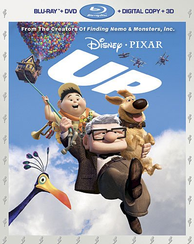 up bluray cover 3D Blu ray Review: UP