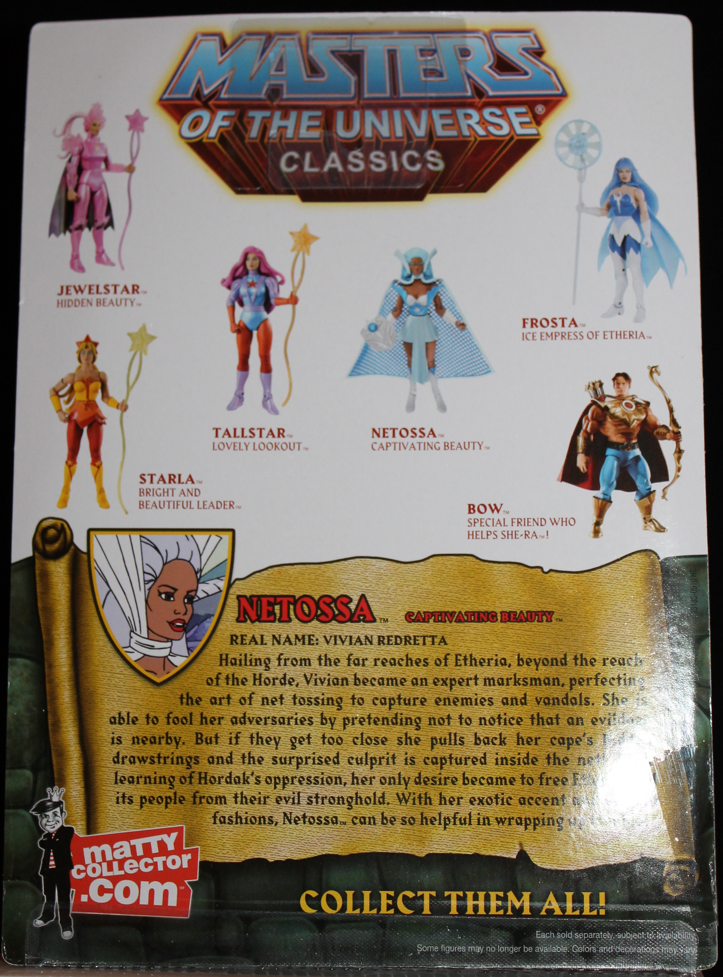 014 Masters of the Universe Classics: Jan  Netossa