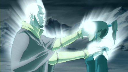 Aang restores Korras bending The Legend of Korra Season 1 Review/Analysis