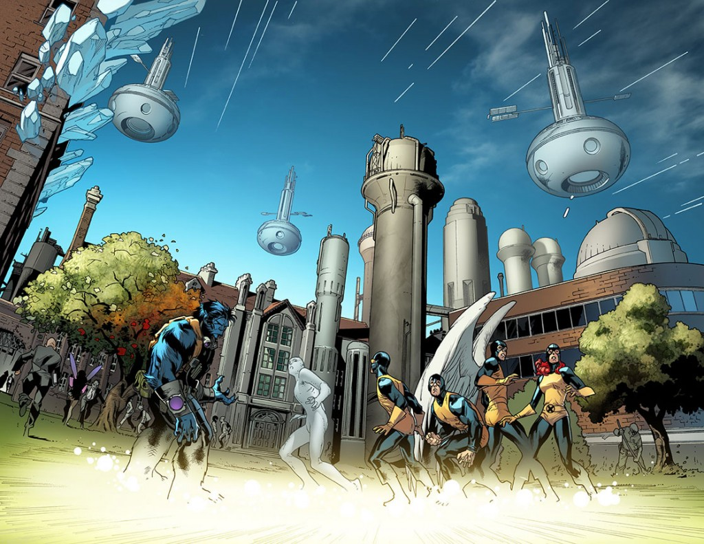 All New X Men 2 interior art 1024x791 Comic Book Review: All New X Men, Vol. 1: Here Comes Yesterday