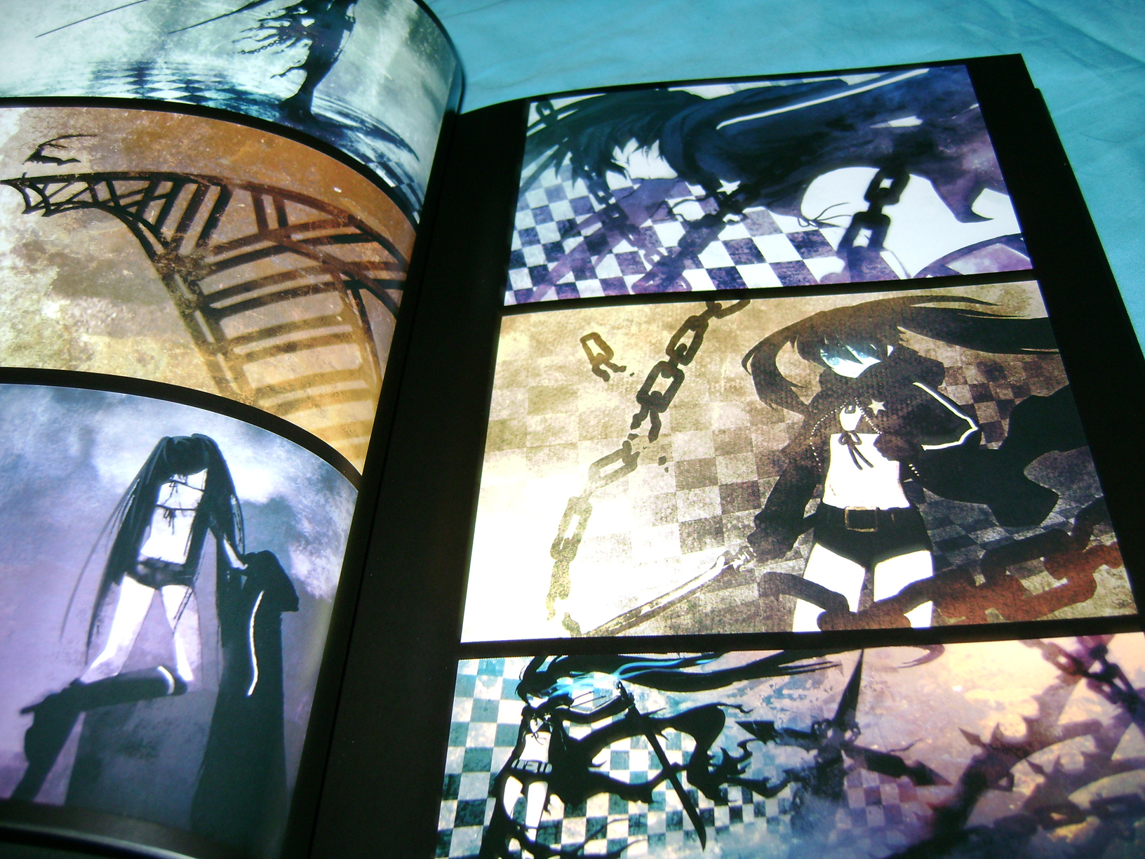 "BRSB 11 Black Rock Shooter ""Beast"" Figma And Huke Art Book!"