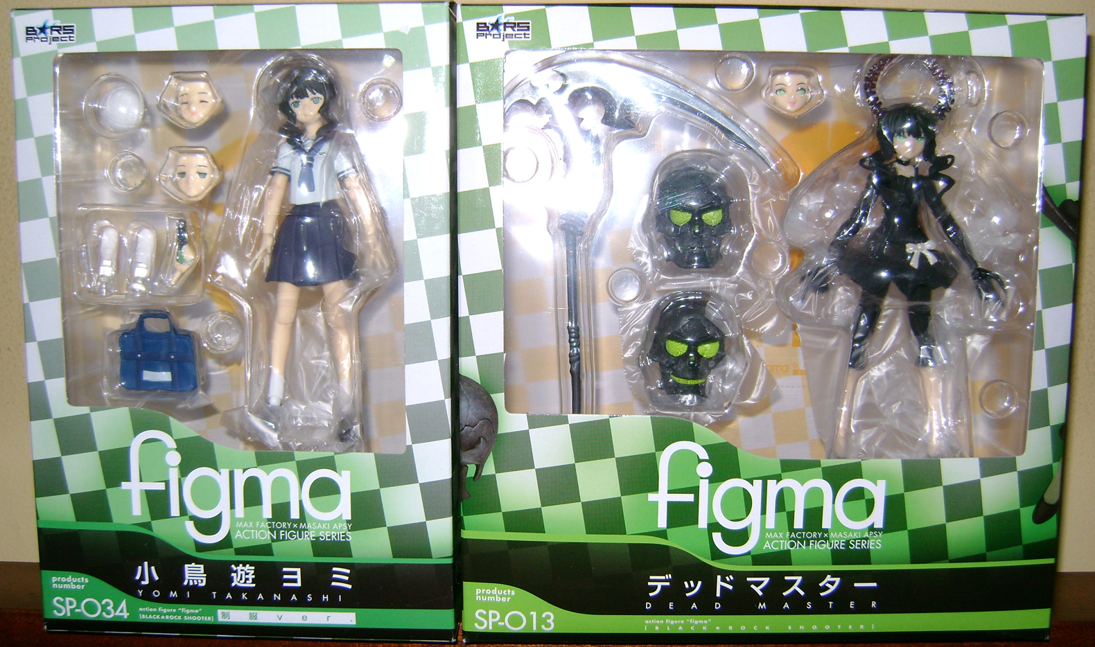 DM 7 Figma Fanatic!  Yomi Takanashi and Dead Master!