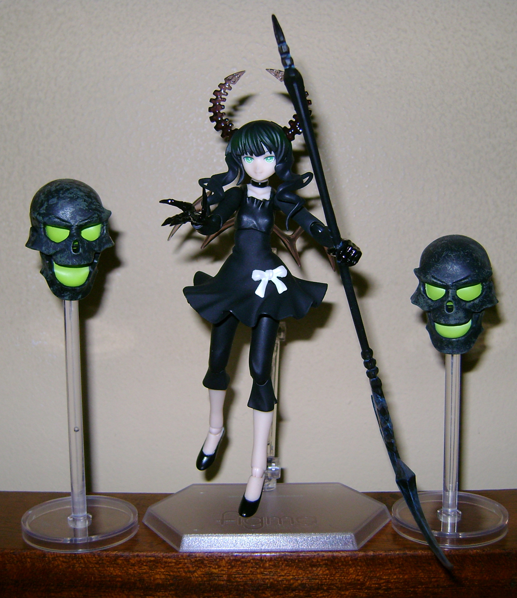 DM 8 Figma Fanatic!  Yomi Takanashi and Dead Master!