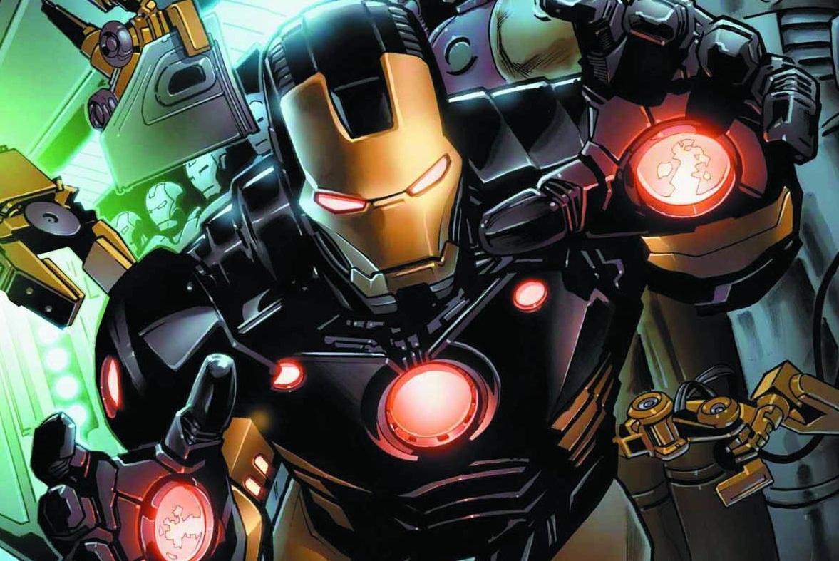 STK517530 Comic Book Review: Iron Man Volume 1: Believe