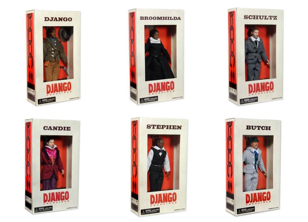 django unchained toys action figure dolls Django Figures Pulled   eBay Follows