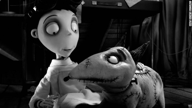 frankenweenie movie still story top Blu Ray Review: Frankenweenie 3D