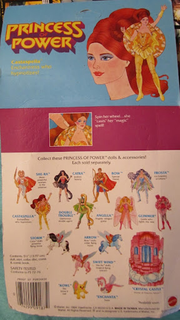 074 Vintage Toy of the Month! Castaspella!