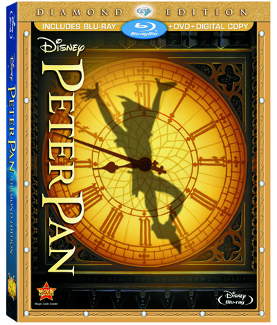 Peter Pan Blu ray DVD1 Blu ray Review: Peter Pan Diamond Edition