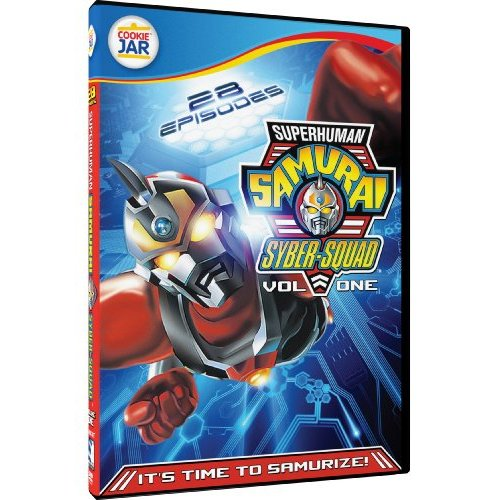 Superhuman DVD Review: Superhuman Samurai Syber Squad Volume 1 (TV Series)