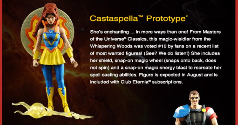 images singleLong Email 05 Vintage Toy of the Month! Castaspella!