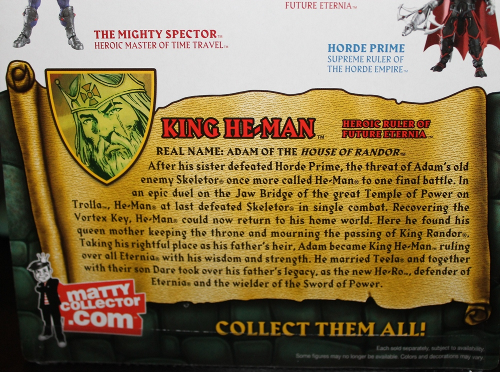 013 Masters of the Universe Classics: March  Fang Man & King He Man