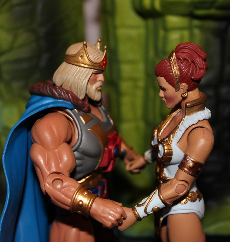 034 Masters of the Universe Classics: March  Fang Man & King He Man