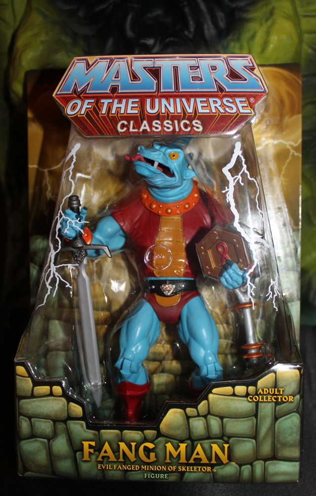 035 Masters of the Universe Classics: March  Fang Man & King He Man