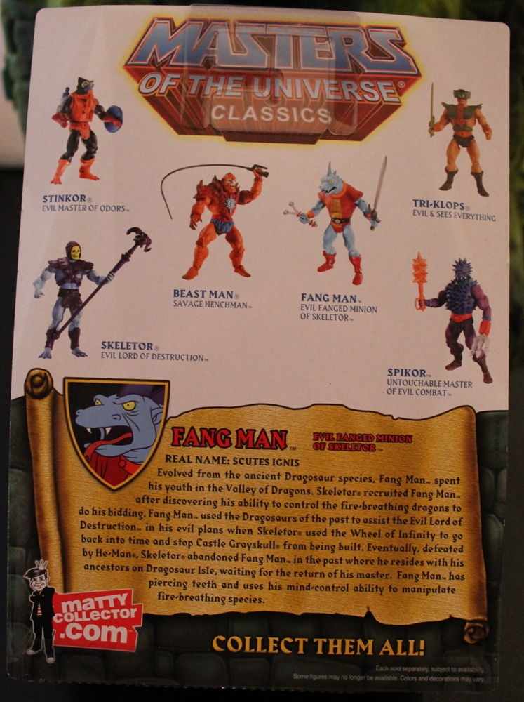 045 Masters of the Universe Classics: March  Fang Man & King He Man