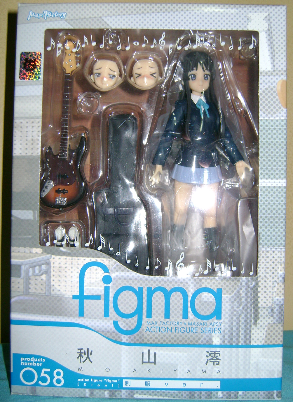 Keion F 1 K ON: Mio And Ritsu, Figma Action Figures!