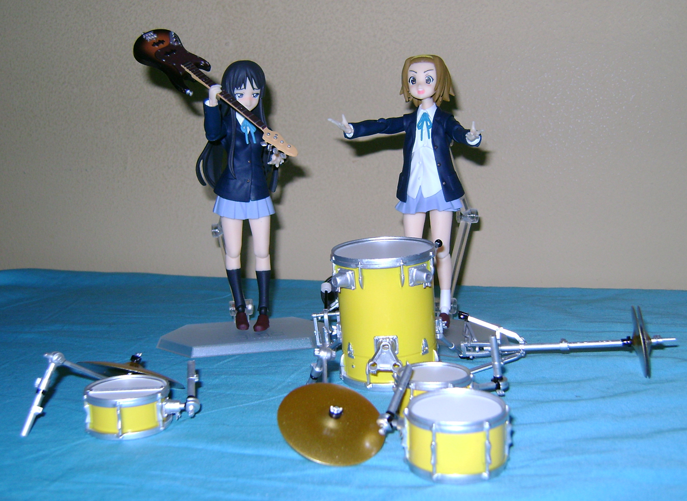 Keion F 11 K ON: Mio And Ritsu, Figma Action Figures!