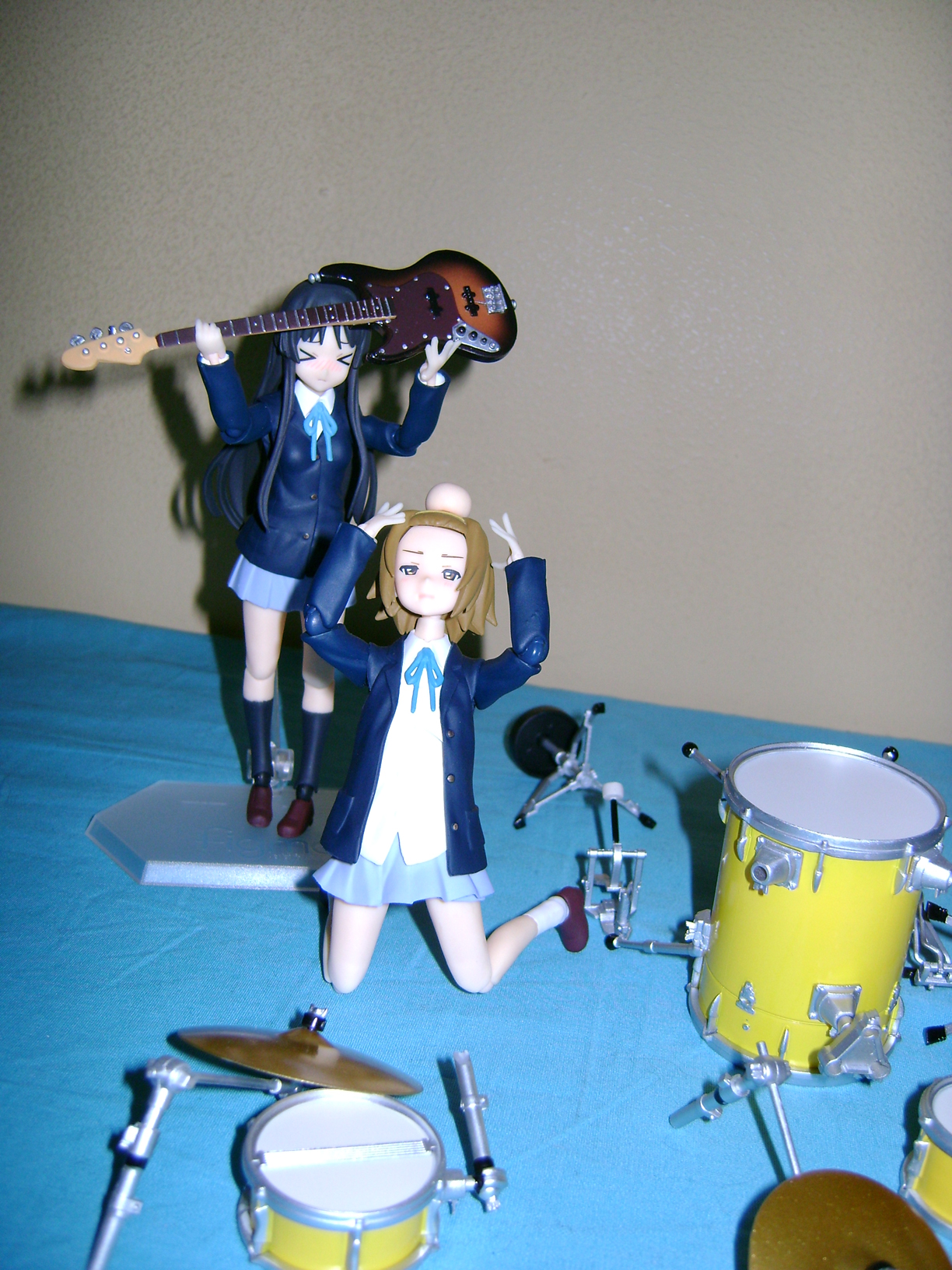 Keion F 12 K ON: Mio And Ritsu, Figma Action Figures!