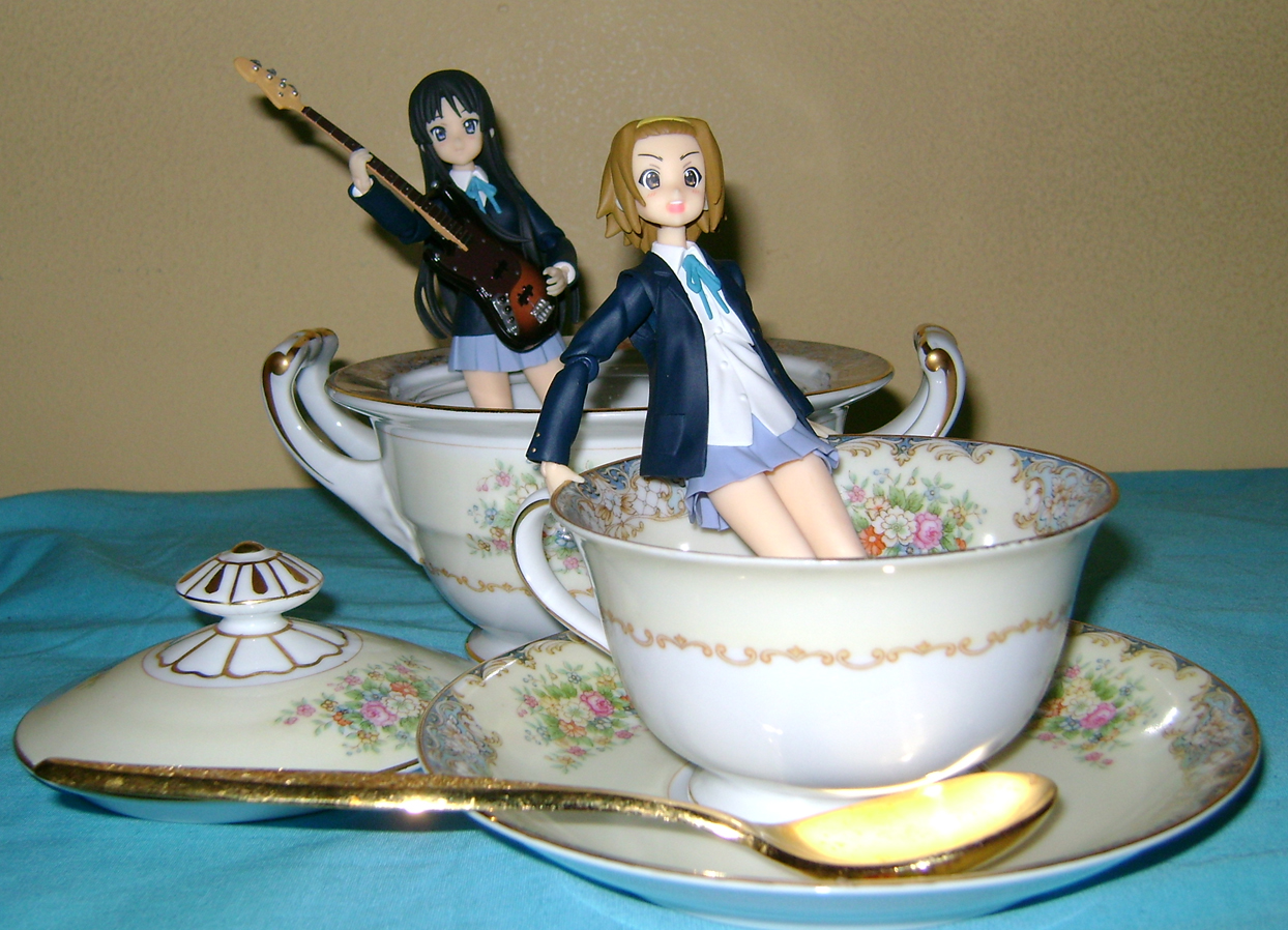 Keion F 14 K ON: Mio And Ritsu, Figma Action Figures!