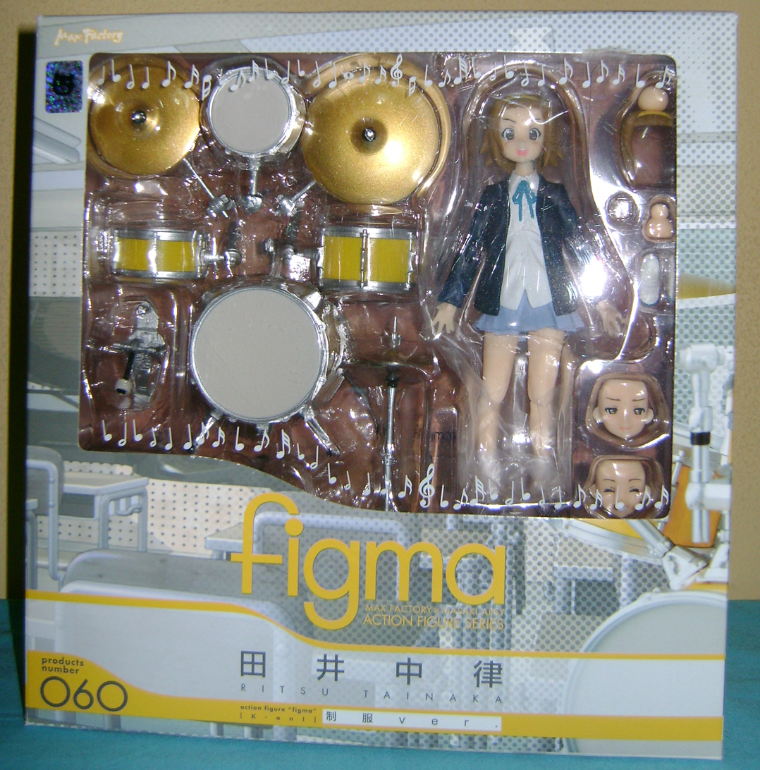 Keion F 3 K ON: Mio And Ritsu, Figma Action Figures!