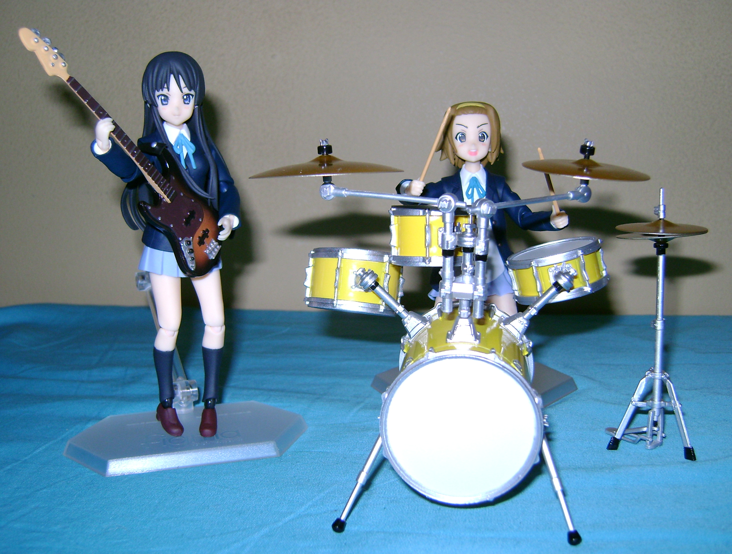 Keion F 9 K ON: Mio And Ritsu, Figma Action Figures!