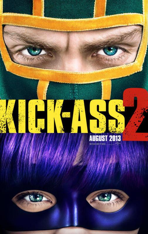 Kick Ass 2 First Poster Dragonlord Kick Ass 2 Trailer