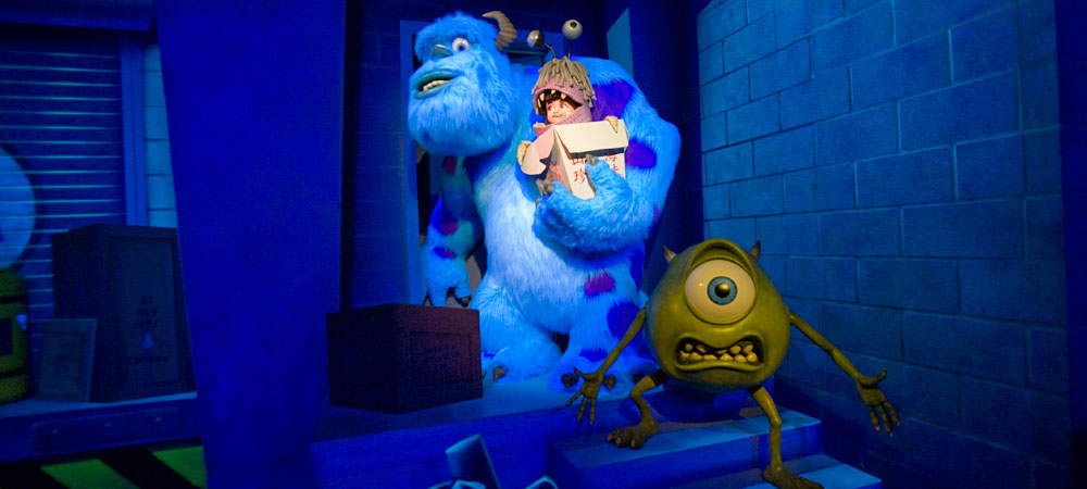 monsters inc alt Blu Ray Review: Monsters, Inc. 3D