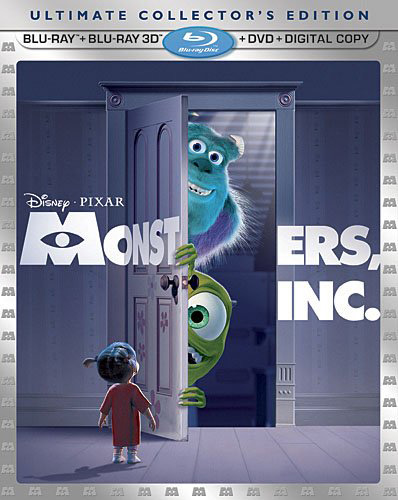 monsters Blu Ray Review: Monsters, Inc. 3D