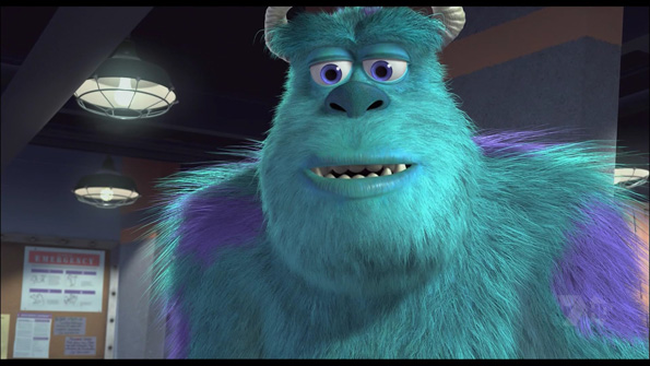 monsters inc Blu Ray Review: Monsters, Inc. 3D