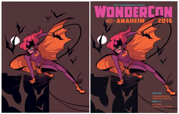 toucan wca2015 cover2 WonderCon 2014 Program Cover